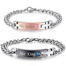 Bracelet King and Queen