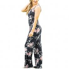 Floral Printed Jumpsuit Women