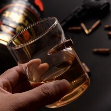 Bullet Whisky Crystal Glass
