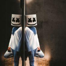 DJ Marshmello Halloween Mask