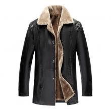 Fur Leather Jacket