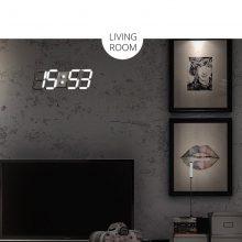 Digital Wall Clock Led